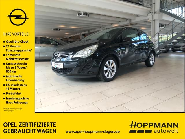 Opel Corsa Active Multifunktionslenkrad Klimaanlage Tempomat AUX, Jahr 2012, Benzin