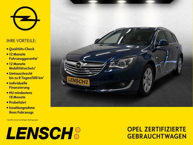 Opel Insignia A 1.4 T ST Innovation XENON+SITZH+NAVI+, Jahr 2014, Benzin