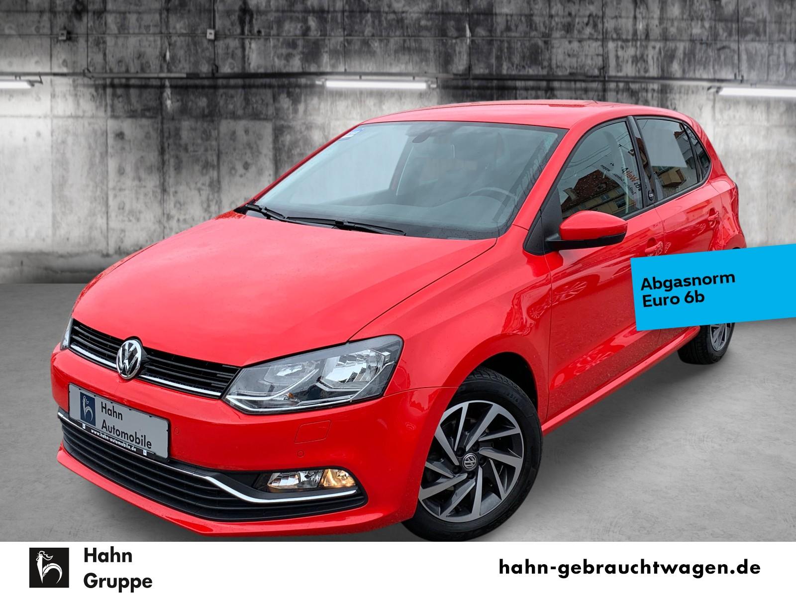 Volkswagen Polo Sound 1.0 Sitzh Klima Einpark Bordc LM, Jahr 2017, Benzin