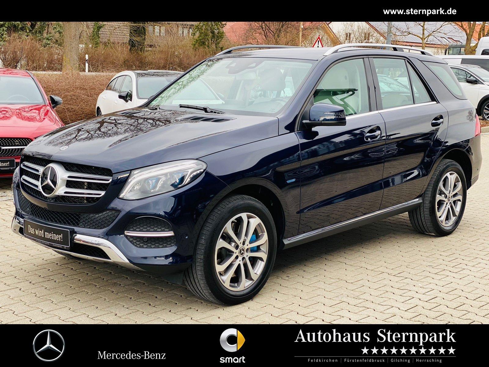 Mercedes-Benz GLE 500 e 4M Comand+AHK+DVD+LED+Distronic+Apple, Jahr 2017, Hybrid