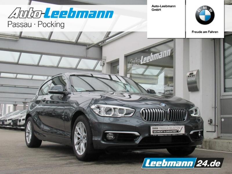 BMW 120i 3-Türer Aut. Urban NAVI/ACC 2 JAHRE GARANTI, Jahr 2018, Benzin