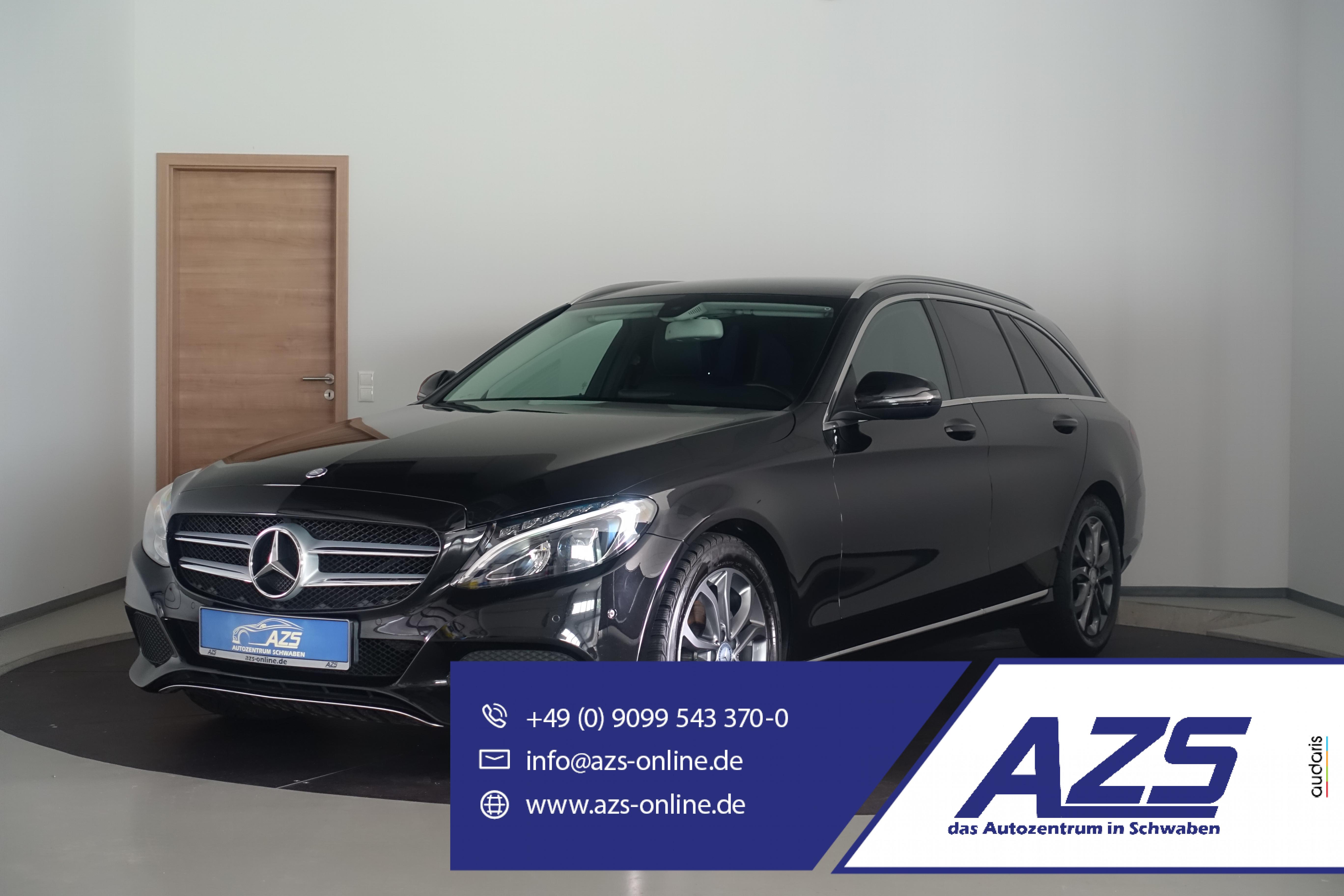 Mercedes-Benz C 180 Avantgarde | Teil-Leder | Navi | LED | SHZ, Jahr 2015, Benzin