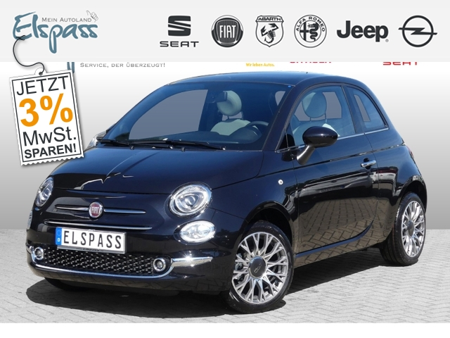 Fiat 500 Star 1.2 Serie 7 PANORAMA PDC 7'' TOUCH DAB, Jahr 2019, Benzin