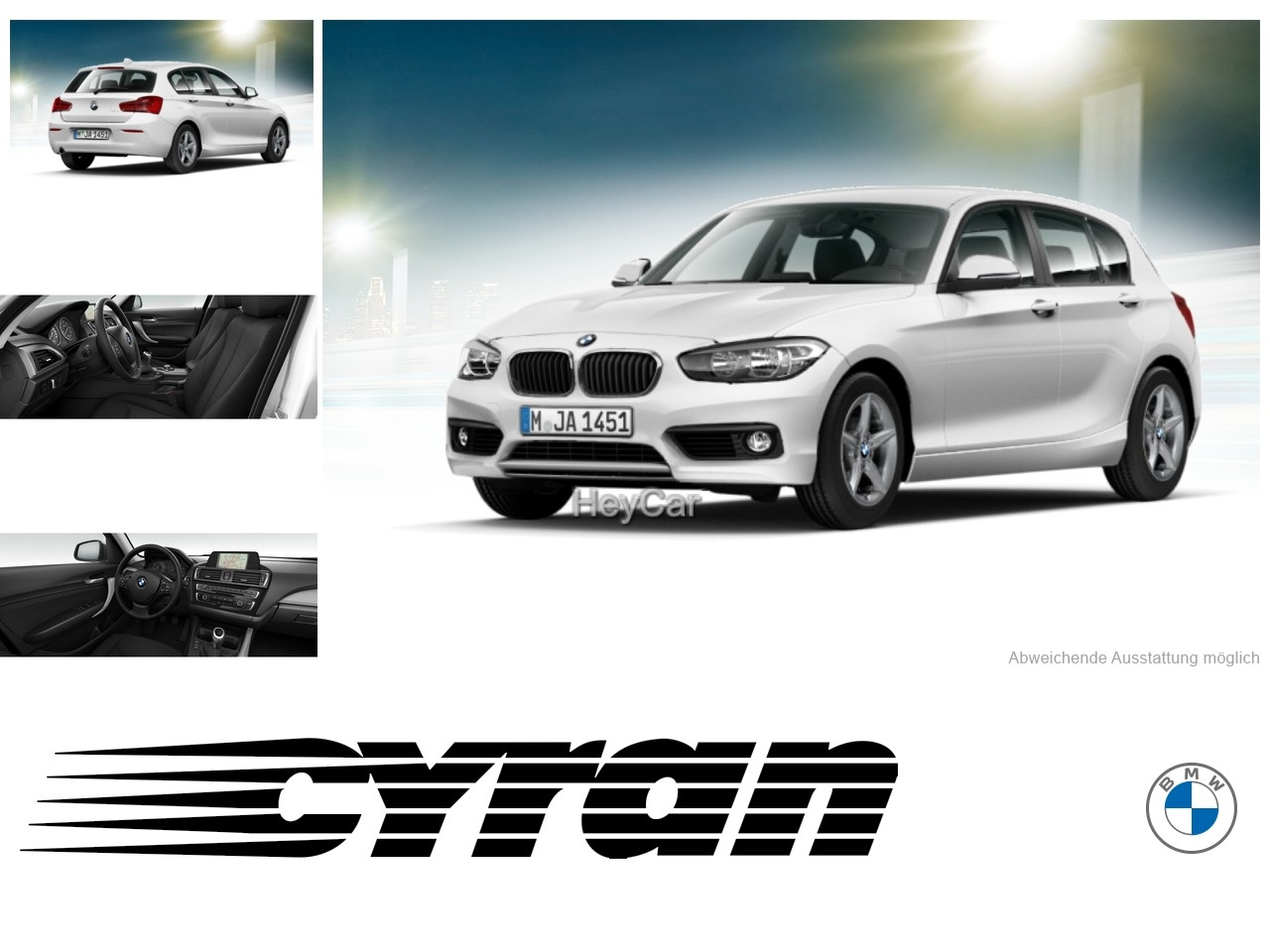 BMW 118d Advantage Navi Business PDC Sitzhzg. Vorn, Jahr 2016, Diesel