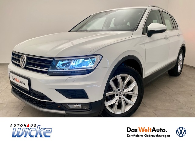 Volkswagen Tiguan 2.0 TDI DSG Highline Klima Navi ACC AHK, Jahr 2018, Diesel