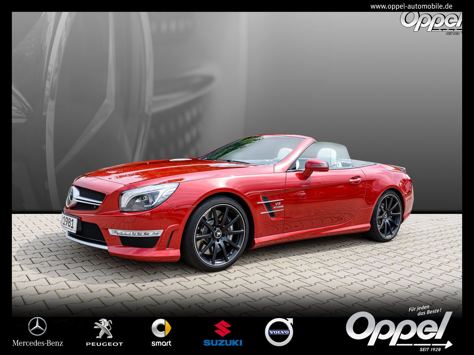 Mercedes-Benz SL 63 AMG Edit1+Performance+Comand+Distronic+B&O, Jahr 2012, Benzin