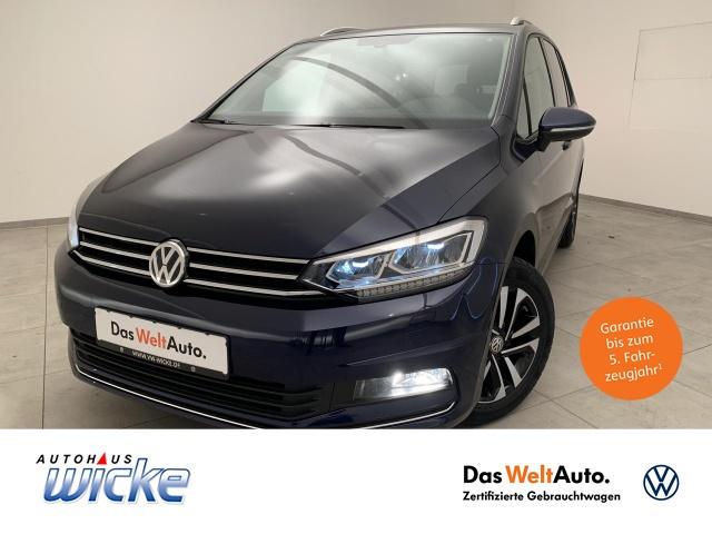 Volkswagen Touran 1.5 TSI Comfortline Klima 7-Sitzer Navi, Jahr 2020, Benzin