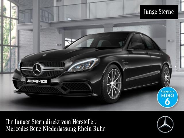 Mercedes-Benz C 63 AMG Driversp Perf-Abgas 360° Pano COMAND HUD, Jahr 2017, petrol