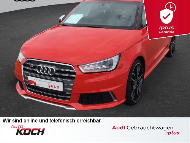 Audi S1 Sportback 2.0 TFSI q., Navi plus, Komfortschl., Exterieur, Jahr 2016, Benzin