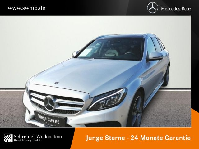 Mercedes-Benz C 400 T 4M *AMG*Comand*Pano.-Dach*LED*Kamera*PDC, Jahr 2018, Benzin