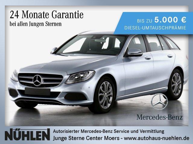 Mercedes-Benz C 220 d T-Modell AVANTGARDE+Sitzhzg+Rückfahrka., Jahr 2016, Diesel