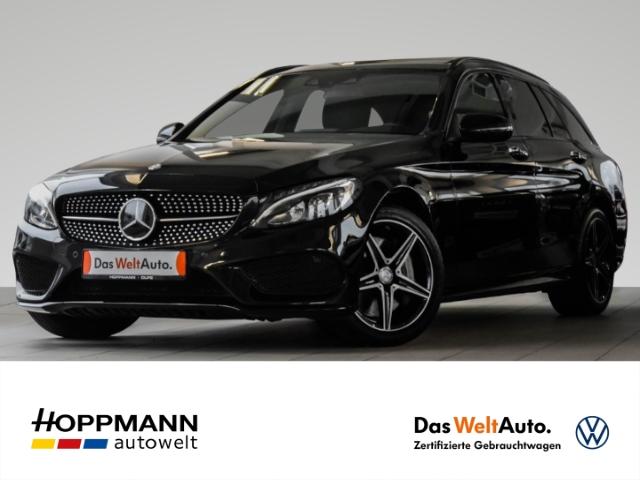 Mercedes-Benz C 450 AMG T 4Matic LED/Pano/Kamera/Navi/Burmester/Keyless/Totwinkel-/Spurhalte-/Parklenkass., Jahr 2016, Benzin