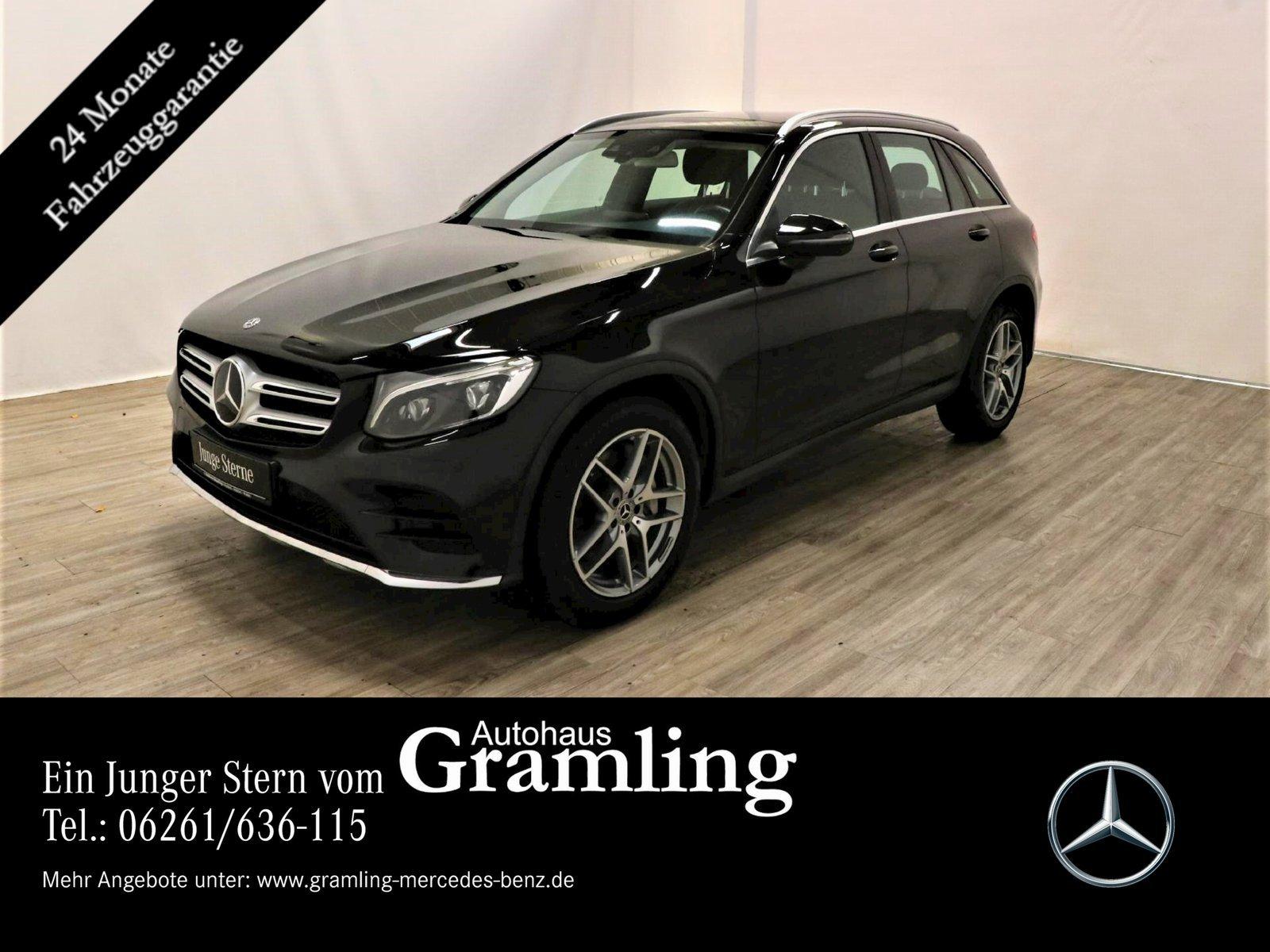 Mercedes-Benz GLC 350 d 4M *AMG*Pano*Kamera*ILS*Distron*COMAND, Jahr 2017, Diesel