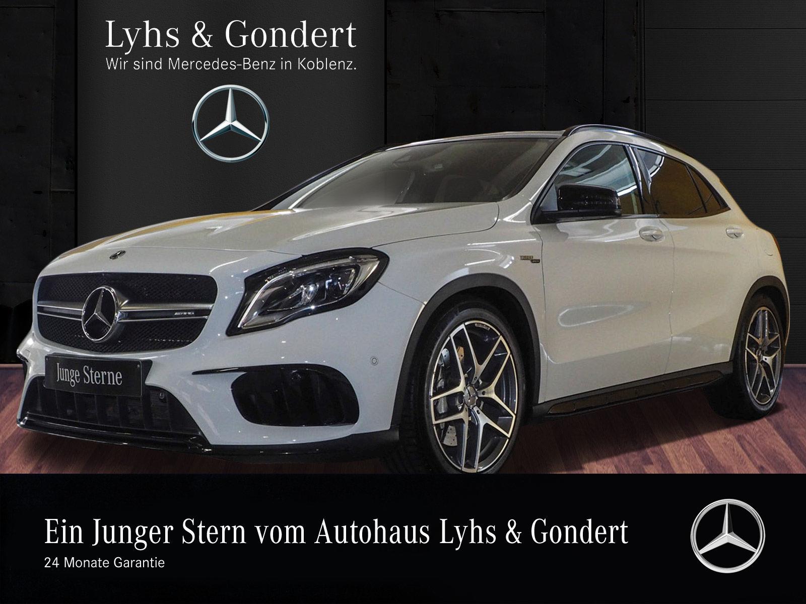 Mercedes-Benz AMG GLA 45 4MATIC *Panoramadach*Night-Paket*COMA, Jahr 2018, Benzin
