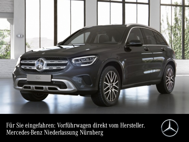 Mercedes-Benz GLC 300 de 4M AHK+LED+Kamera+Keyless+9G, Jahr 2021, Hybrid_Diesel