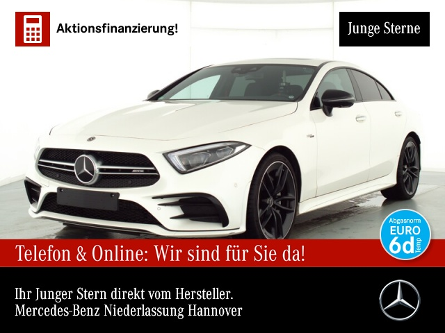 "Mercedes-Benz CLS 53 AMG 4M+ ""MBUX"" 20"" DISTORNIC MULTIBEAM, Jahr 2020, petrol"