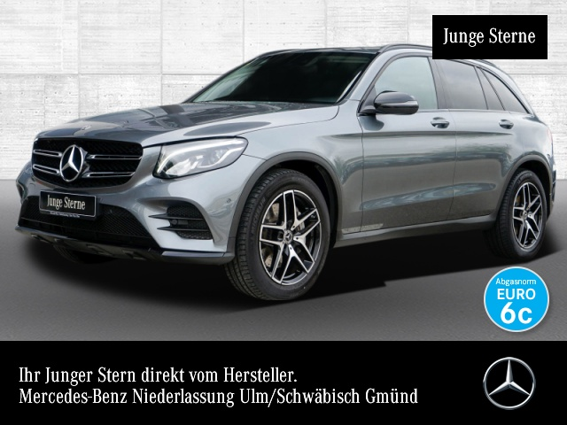 Mercedes-Benz GLC 350 d 4M AMG Stdhzg COMAND LED AHK Night PTS, Jahr 2018, Diesel