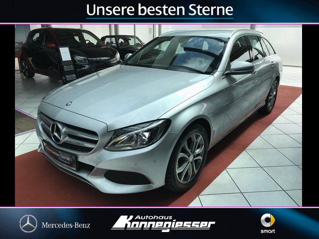 Mercedes-Benz C 180 d T*AVANTGARDE*LED*PARKASSIST*TOTWINKELASS, Jahr 2015, Diesel