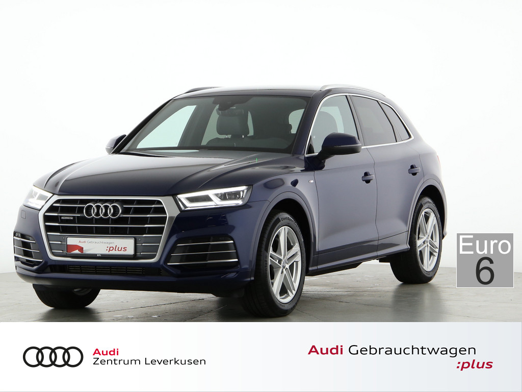 Audi Q5 2.0 TFSI quattro sport, Jahr 2018, Benzin