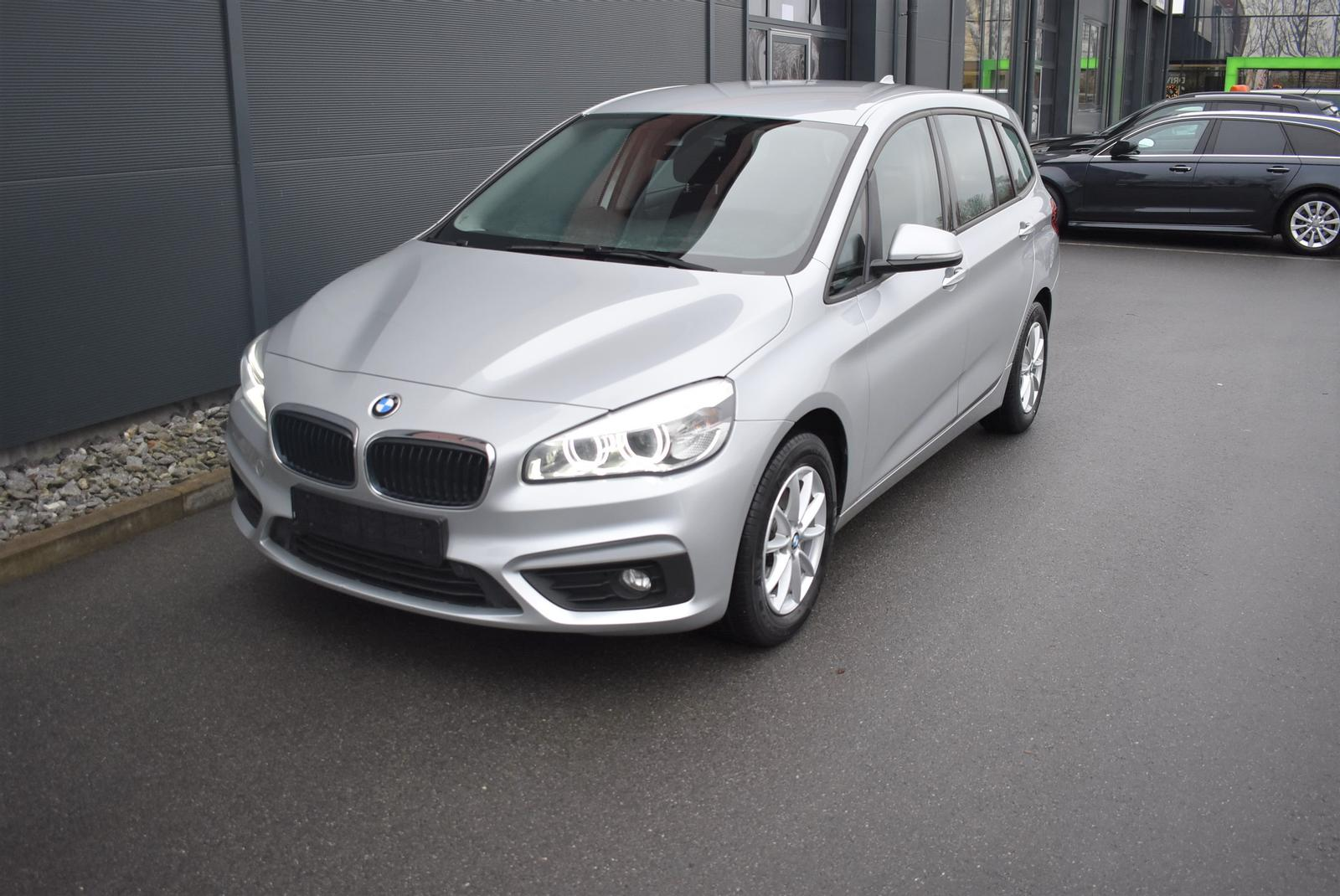 BMW 216d Gran Tourer Advantage AUTOMATIK*AHK*NAVI*LED, Jahr 2017, Diesel