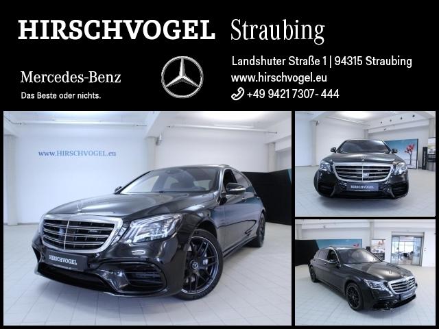 Mercedes-Benz S 63 AMG 4M+ lang Night+Pano+DISTRONIC+Standhzg, Jahr 2018, Benzin