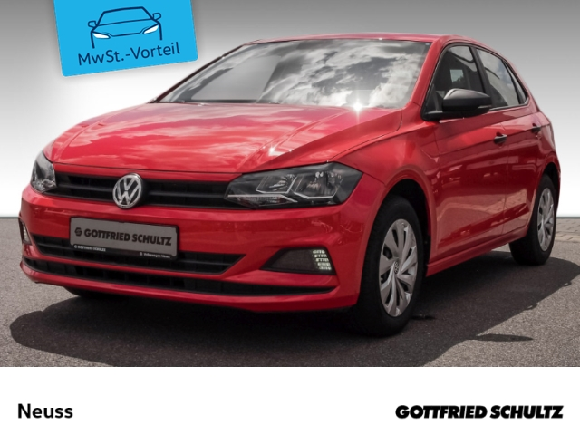 Volkswagen Polo VI 1,0 COOL&SOUND+KLIMA+COMP COLOUR Trendline, Jahr 2018, Benzin