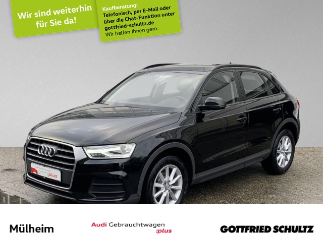 Audi Q3 1.4 TFSI NAVI AHK XENON +AHK+MUFU+SIH+EPH, Jahr 2017, Benzin