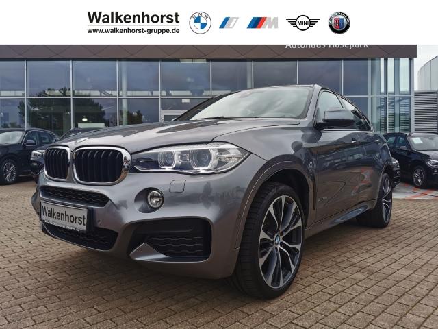 BMW X6 xDrive 30d EURO 6 Aut M-Sportpaket Navi PGD Cam Temp Klima, Jahr 2018, Diesel