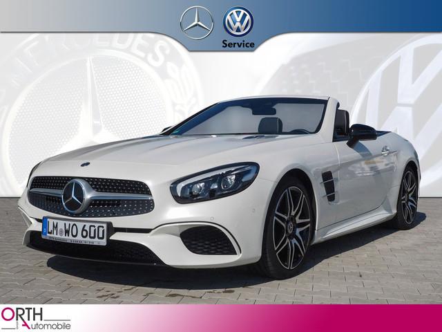 Mercedes-Benz SL 500 AMG+NIGHT+Harman+DISTRONIC+Comand+TOTW+SP, Jahr 2020, Benzin