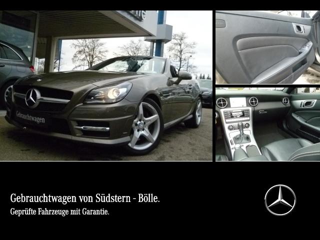 Mercedes-Benz SLK 200 AMG,Aut.,COM.,Airscarf,Leder,PTS,Sitzhz, Jahr 2012, petrol