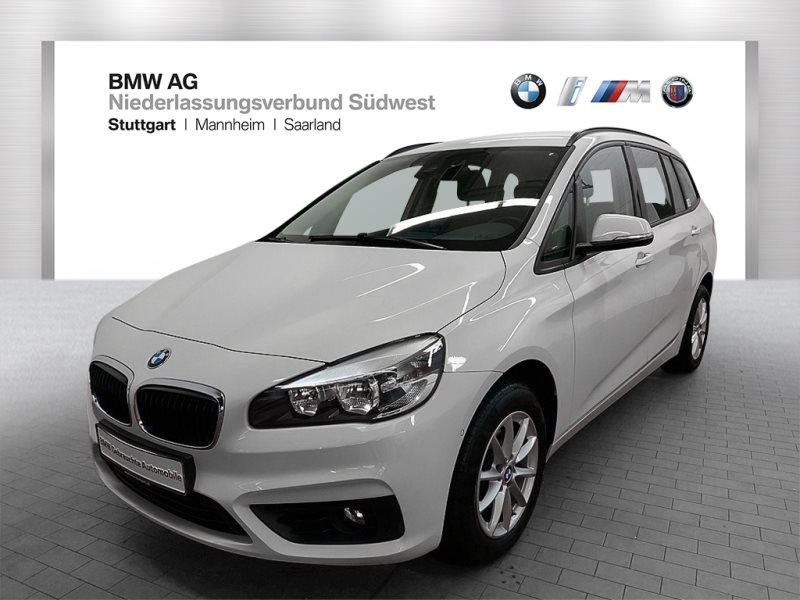 BMW 216d Gran Tourer Advantage 3.Sitzreihe Navi Shz, Jahr 2017, Diesel