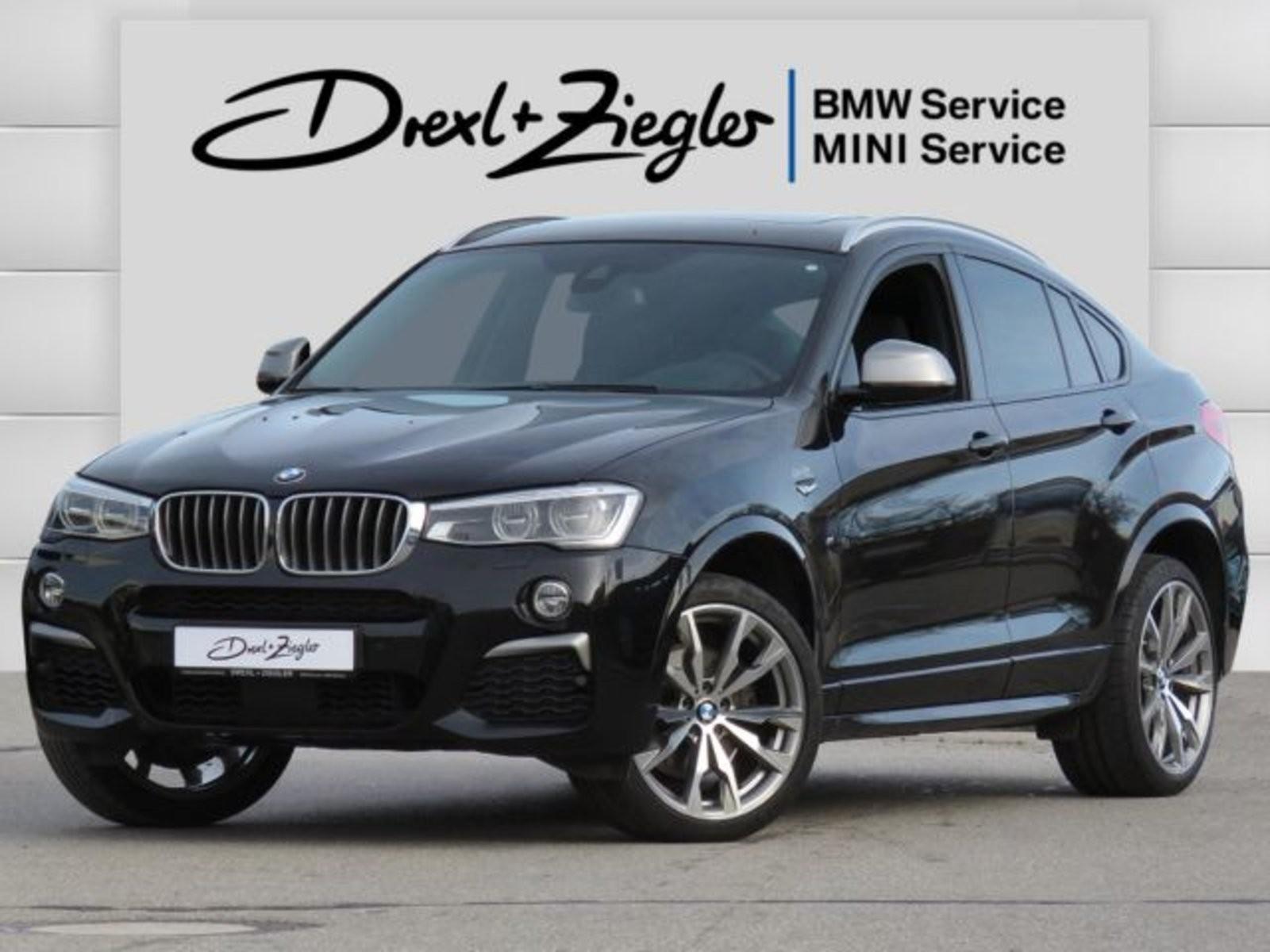 BMW X4 M40i Leder AHK HUD DAB H&K Alu20 GSD Kamera, Jahr 2017, Benzin
