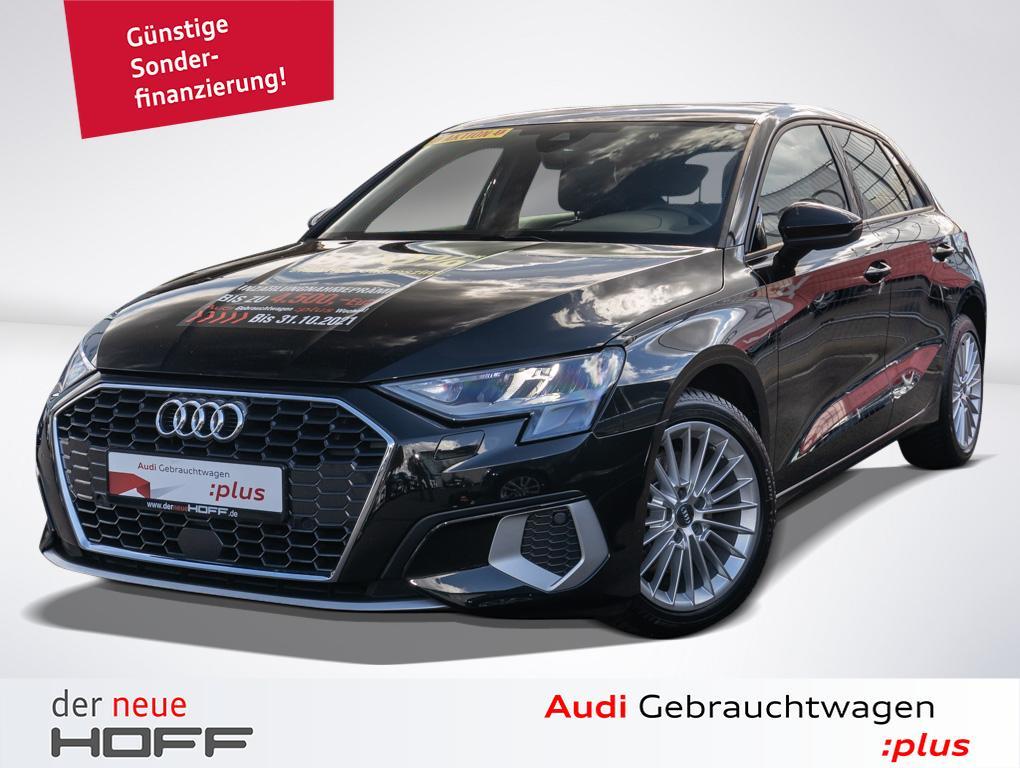 Audi A3 Sportback Advanced 17 Zoll NAVI LED el. Heckk, Jahr 2021, Benzin
