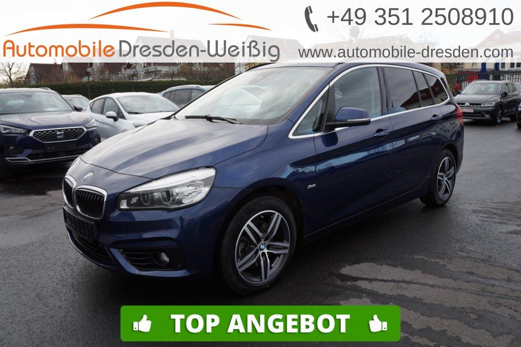 BMW 218 Gran Tourer d Sport Line*Navi*LED*Kamera*, Jahr 2017, Diesel