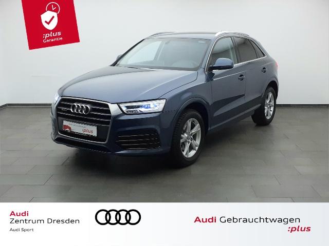 Audi Q3 sport 2.0 TDI quattro AHZV/NAVI/LED-SW, Jahr 2018, Diesel