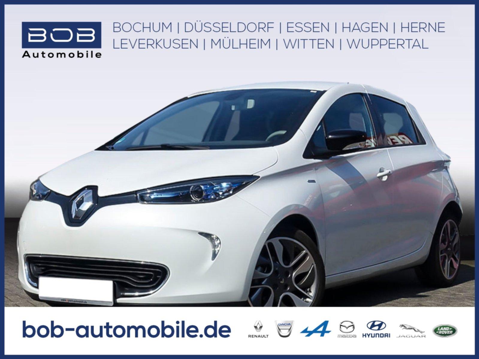 Renault ZOE INTENS Batteriemiete Z.E.40 BOSE LEDER NAVI, Jahr 2018, Elektro
