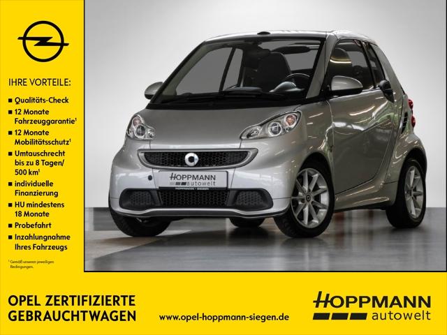 smart fortwo cabrio (01.2007->), Jahr 2014, Benzin