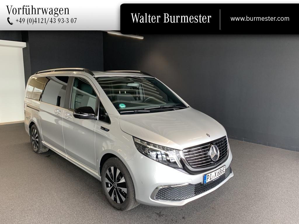Mercedes-Benz EQV 300 L LED, Distr., Kamera 360°, Navi, Jahr 2020, Elektro
