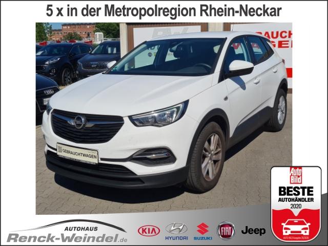 Opel Grandland X Edition 1.2 Turbo Fernlichtass. Bluet. Radio LED-hinten, Jahr 2017, Benzin
