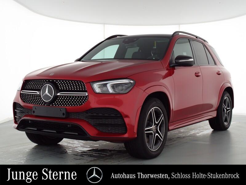 Mercedes-Benz GLE 400 d 4MATIC AMG Pano HUD AHK Night Multi, Jahr 2020, Diesel