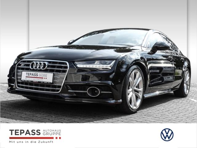Audi S7 Sportback 4.0 TFSI quattro Matrix HUD Bose Standhzg Carbon, Jahr 2016, Benzin