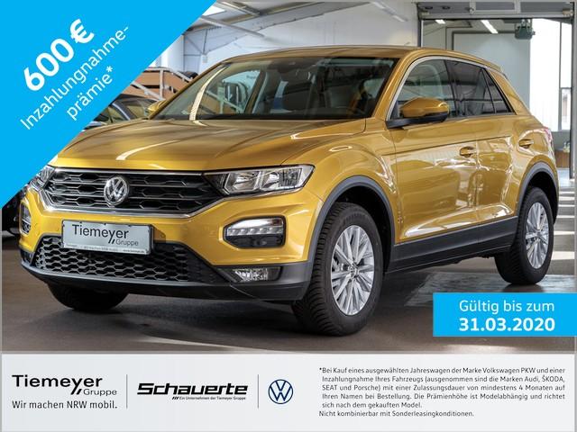 Volkswagen T-Roc 1.0 TSI Navi Klimaautomatik LM16, Jahr 2019, petrol