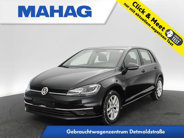 Volkswagen Golf VII 1.6 TDI Comfortline Navi LED Sitzhz. ParkPilot DynLightAssist FrontAssist 16Zoll 5-Gang, Jahr 2019, Diesel