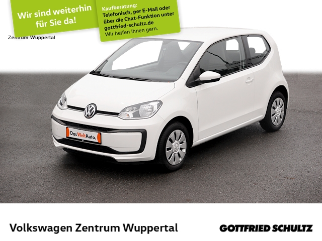 Volkswagen up! 1,0 move KLIMA BT ZV E-FENSTER, Jahr 2017, Benzin