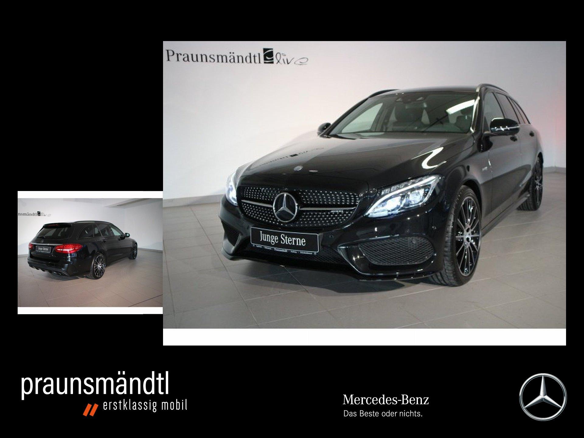 Mercedes-Benz C 43 T 4M AMG Night/LED/Comand/360°/HeadUp/Totw., Jahr 2016, Benzin