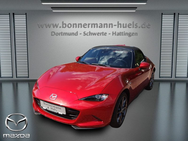 Mazda MX-5 2.0 G-160 Sports-Line *LED*Bose*PDC hi*Navi*RECARO*, Jahr 2016, petrol