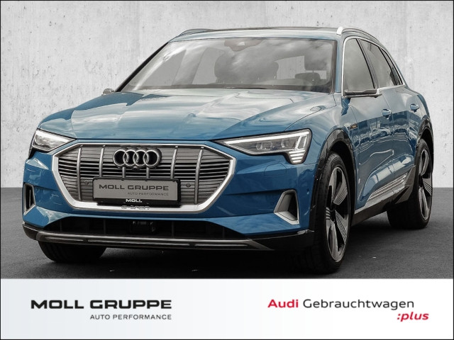 Audi e-tron 55 quattro advanced Launch Edition (LED*Panoramadach* Leder*Virtuelle Außenspiegel), Jahr 2019, Elektro
