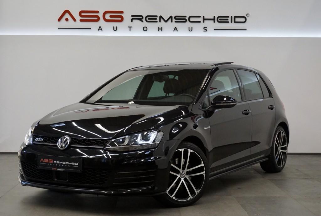 Volkswagen Golf GTD *1.Hand *Pano *Leder *ACC *Kamera *MwSt, Jahr 2015, Diesel