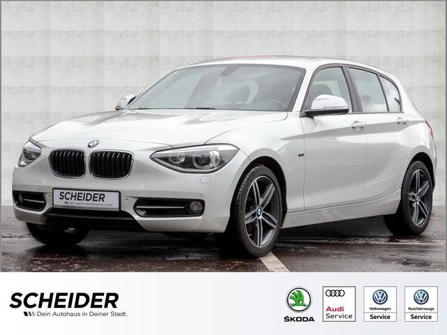 BMW 120d Sport Line Xenon Navi LM17 Harman Kardon, Jahr 2014, diesel