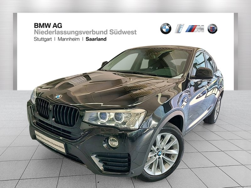 BMW X4 xDrive20d Advantage Xenon RFK Navi Bus. AHK, Jahr 2017, Diesel